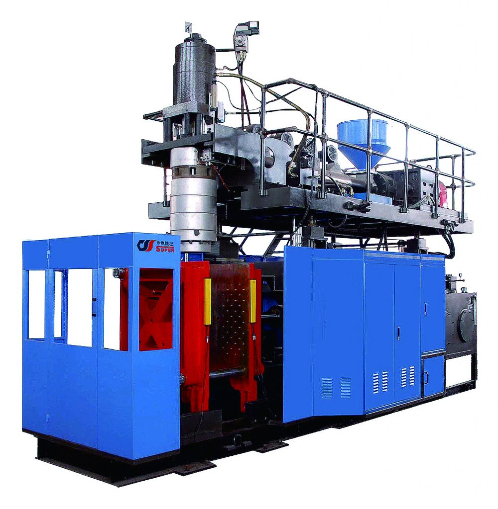 SPB-50LS Large storage Blow Molding Machine for 120L plastic container