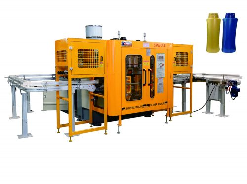 DKB-2.5LD High Speed Blow Molding Plastic Machine For Various plastic shampoo bottles and essential oil bottles