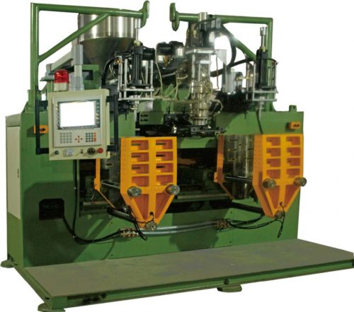 TPU shoe material air-sole air max blow molding machine
