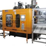 high speed single/dual station multilayer extrusion blow molding machines