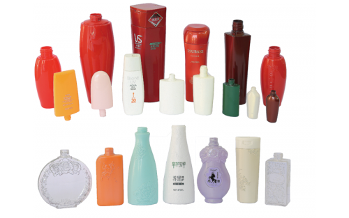 Blow molded Three-layer High-light cosmetic bottles
