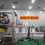 Auto Deflashing Device for extrusion blow molding machine