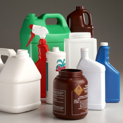 blow molding extrusion plastic bottles, jerry cans